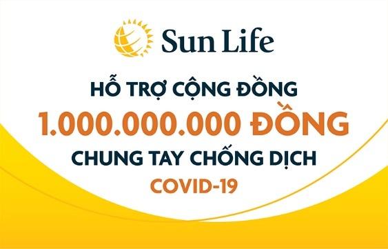Sun Life Viet Nam gop 1 ty dong vao cong tac phong chong dich Covid-19 hinh anh 1 image001_2.jpg
