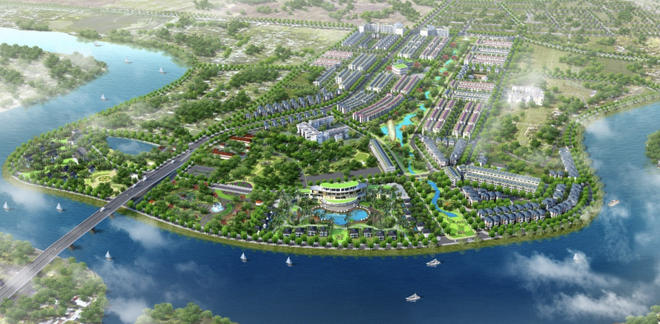 River Silk City anh 1