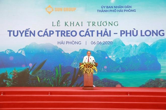 Cap treo Cat Hai - Phu Long anh 1