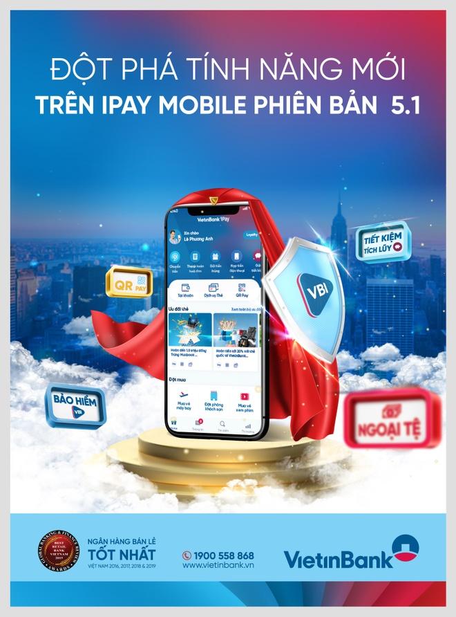 VietinBank iPay Mobile 5.1 anh 1