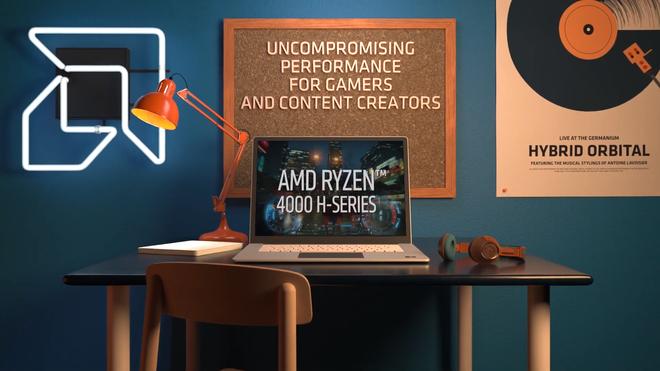 CPU AMD Ryzen 4000 Mobile series anh 2
