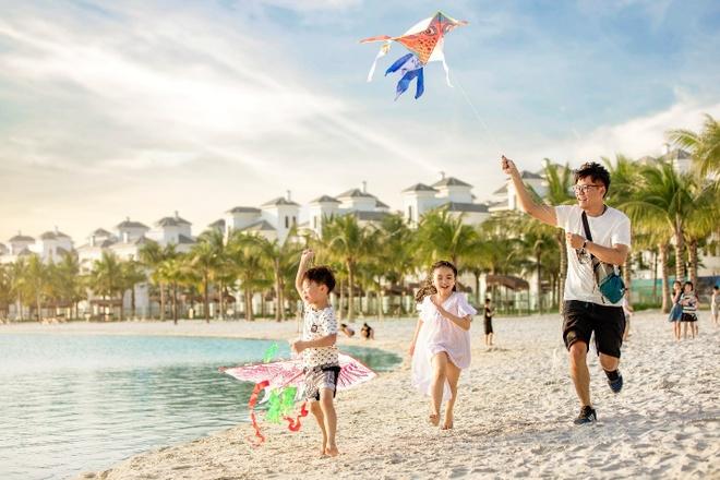 Vinhomes Ocean Park anh 1  - anh_1 - Tránh dịch, người Hà Nội tận hưởng 'kỳ nghỉ hè ở biển' tại nhà