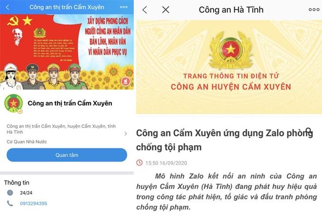 Cong an xa Cam Trung anh 1