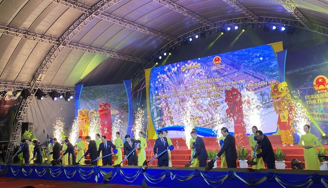 sungroup anh 1  - Le_khoi_cong_Du_an_quang_truong_bien_Sam_Son - Sun Group khởi công quảng trường biển và đô thị du lịch tại Thanh Hóa