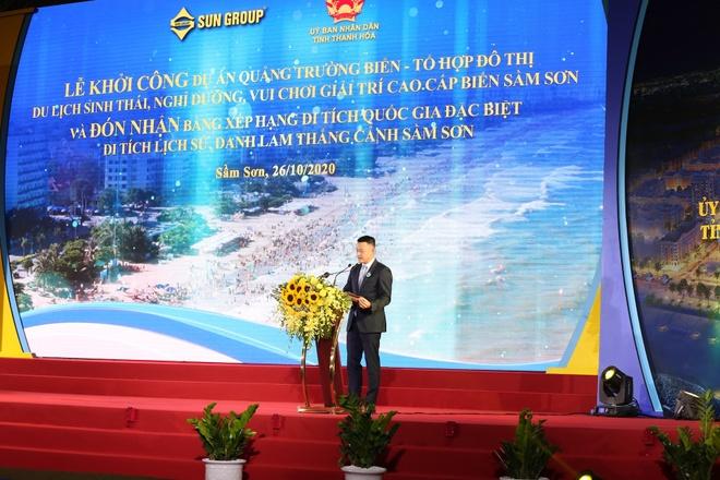 sungroup anh 3  - ong_Dang_Minh_Truong_1_ - Sun Group khởi công quảng trường biển và đô thị du lịch tại Thanh Hóa
