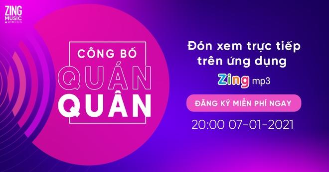 Zing Music Awards 2020 anh 1