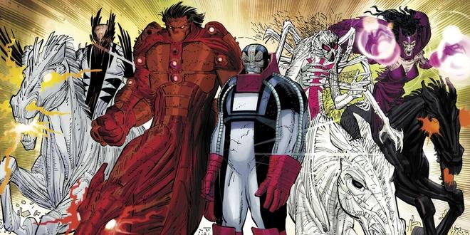 Apocalypse và nhóm The Four Horsemen chắc chắn sẽ khiến cho các X-Men gặp  phải nhiều khó khăn trong tập phim tiếp theo.