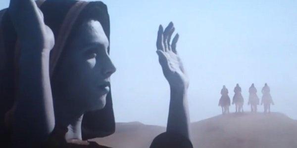 Hình ảnh của Apocalypse và nhóm The Four Horsemen trong đoạn phim sau  credits của X-Men: Days of Future Past.