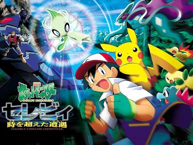 Pokémon lọt được vào top ten nhờ có số lượng tác phẩm đông đảo, cho dù  nguồn doanh thu chính chỉ đến từ chính Nhật Bản.