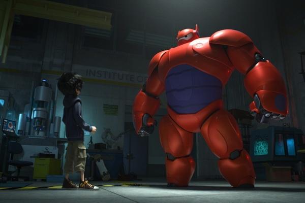 Disney he lo poster robot beo de thuong tu sieu bom tan moi hinh anh
