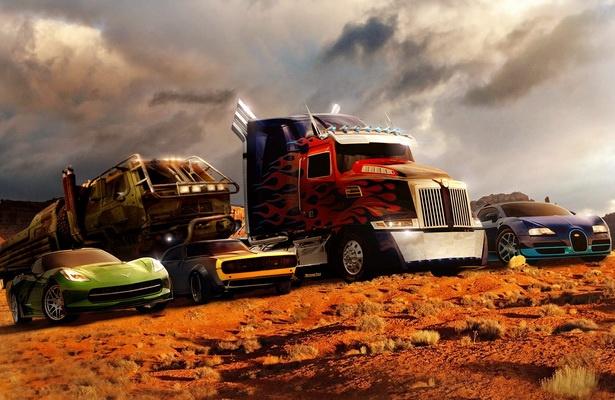 Ngam dan sieu xe cuc khung cua bom tan 'Transformers 4' hinh anh