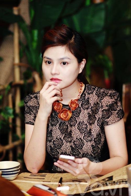 Vu Thu Phuong: 'Chong khong ep toi sinh con trai' hinh anh 5 Cô luôn tâm niệm, đối xử với nhân viên bằng cái tâm.