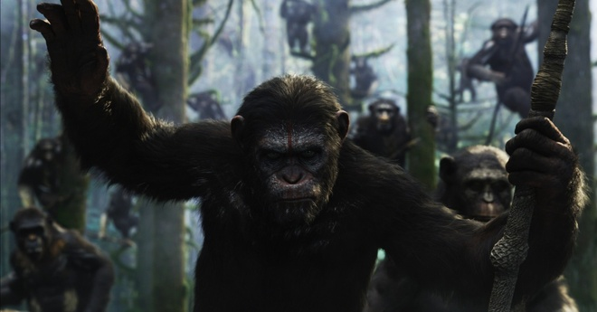 15 phim bom tan duoc cho doi nhat trong nua cuoi 2014 hinh anh 1 Dawn of the Planet of the Apes
