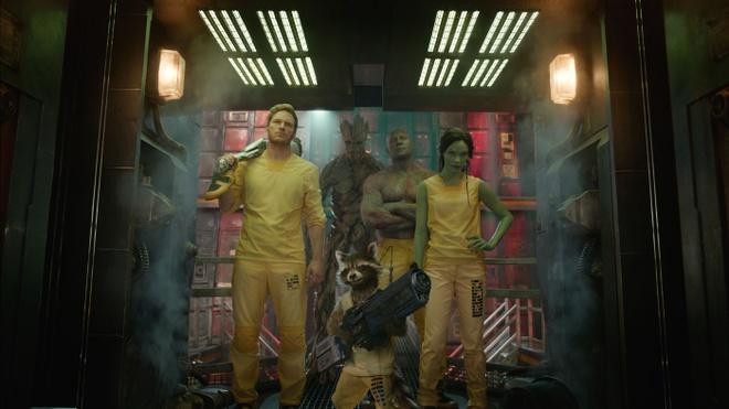 15 phim bom tan duoc cho doi nhat trong nua cuoi 2014 hinh anh 2 Guardians of the Galaxy