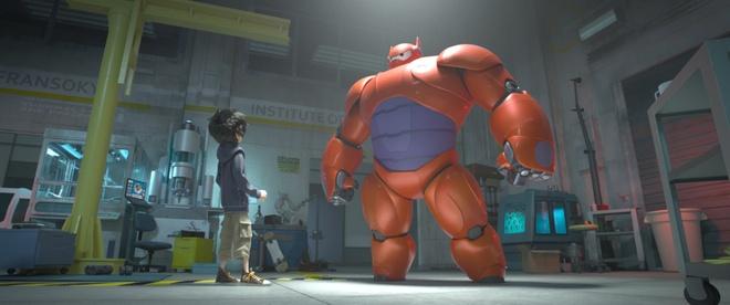 15 phim bom tan duoc cho doi nhat trong nua cuoi 2014 hinh anh 9 Big Hero 6
