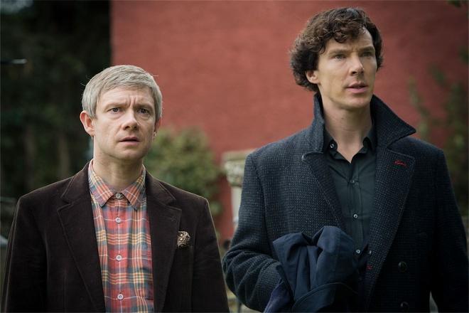 Tập phim Sherlock: His Last Vow đem về chiến thắng cho cả Benedict  Cumberbatch, Martin Freeman và biên kịch Steven Moffat tại Emmy 2014.