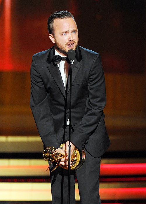 'Breaking Bad' thang ap dao tai Emmy 2014 hinh anh 5. Aaron Paul ...