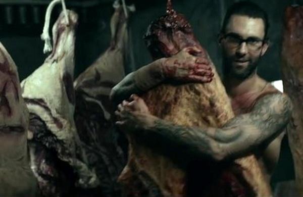 Adam Levine cung vo 'tam mau' trong MV moi cua Maroon 5 hinh anh