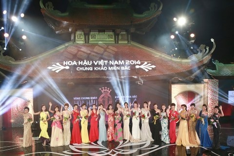 Khi Hoa hau 'dau' voi Hoa khoi hinh anh 2 Chung khảo khu vực phía Bắc - Hoa hậu Việt Nam vừa diễn ra tại Hà Nội.
