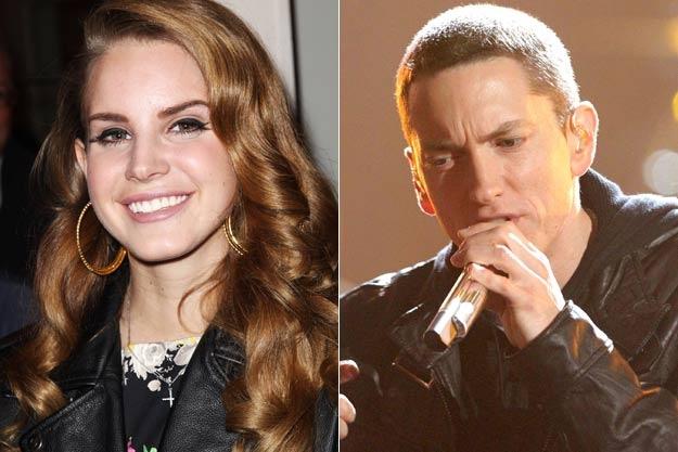 Eminem doa danh Lana Del Rey trong ca khuc moi hinh anh