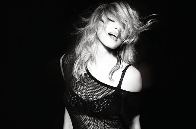 Madonna phat dien khi album moi bi lot len mang hinh anh