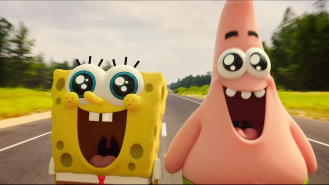 'Anh hung bot bien' SpongeBob soan ngoi phong ve 'Xa thu My' hinh anh