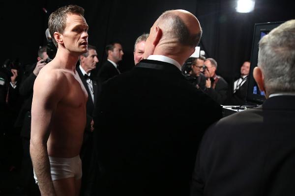 12 khoanh khac thu vi phia sau canh ga Oscar 2015 hinh anh