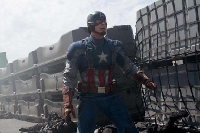 'Captain America 2' dan dau danh sach tranh giai Sao Tho hinh anh