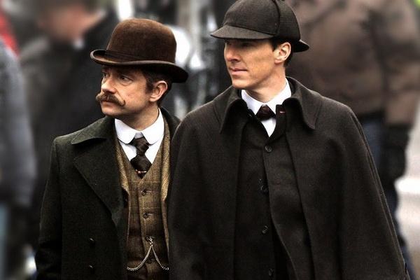 Tap phim 'Sherlock' dac biet lay boi canh the ky 19 hinh anh