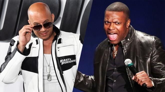 Vin Diesel và Chris Tucker là hai gương mặt mới được bổ sung cho