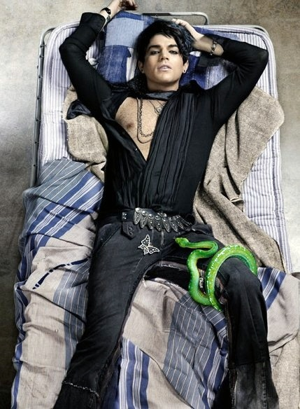 Adam Lambert cho biết mình từng ngủ với cả những sao nam không phải là đồng  tính.