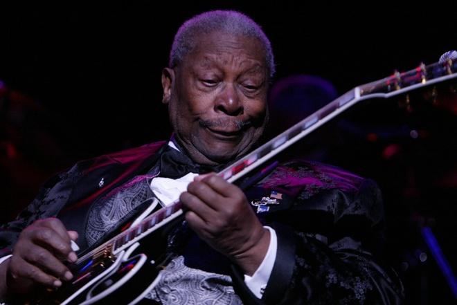 Ong hoang nhac blues B.B. King qua doi o tuoi 89 hinh anh