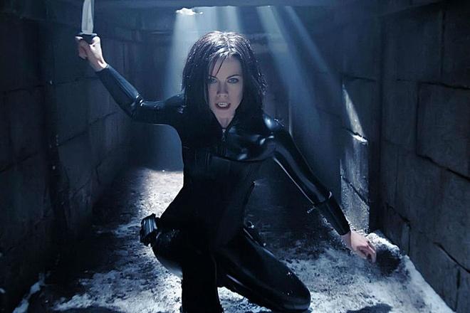 Kate Beckinsale tro lai the gioi ma ca rong cua 'Underworld' hinh anh