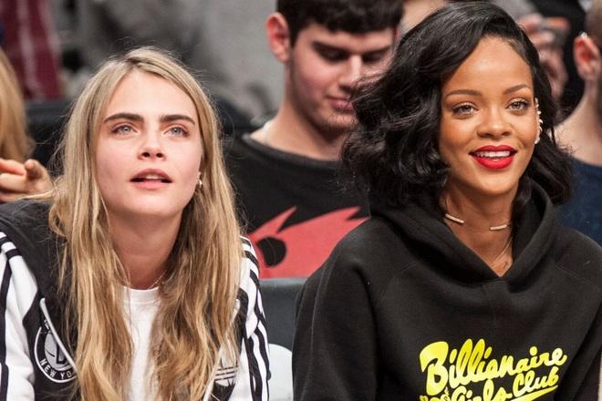 Rihanna khich le Cara Delevingne khong duoc bo cuoc hinh anh