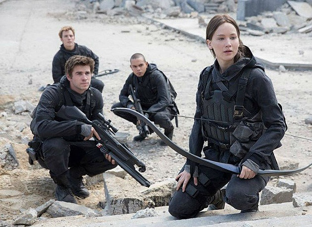 Hinh anh dau tien tu phan cuoi 'The Hunger Games' hinh anh