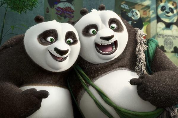 Cha con gau Po hoi ngo trong 'Kung Fu Panda 3' hinh anh