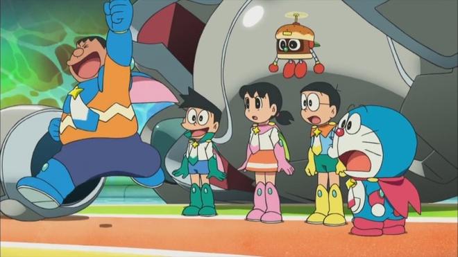 Trailer bo phim 'Doraemon: Nobita va nhung hiep si khong gian' hinh anh