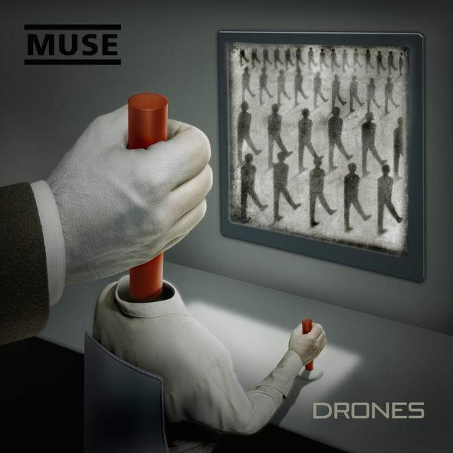 Muse gianh ngoi dau Billboard 200 voi 'Drones' hinh anh 1 Drones giúp Muse có No. 1 đầu tiên trong sự nghiệp trên Billboard 200 sau hơn hai thập kỷ thành lập.
