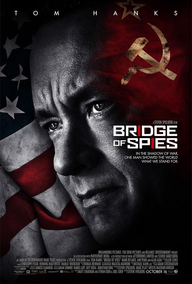 10 bom tan an khach nhat cua dao dien Steven Spielberg hinh anh 11 Khán giả sẽ được thưởng thức Bridge of Spies của Steven Spielberg từ ngày 16/10.