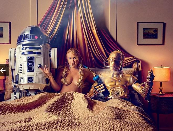 Disney phu nhan lien quan toi bo anh nong 'Star Wars' hinh anh