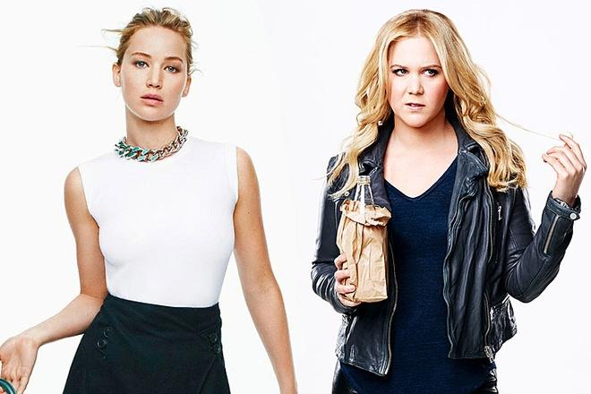 Jennifer Lawrence lam phim cung danh hai Amy Schumer hinh anh