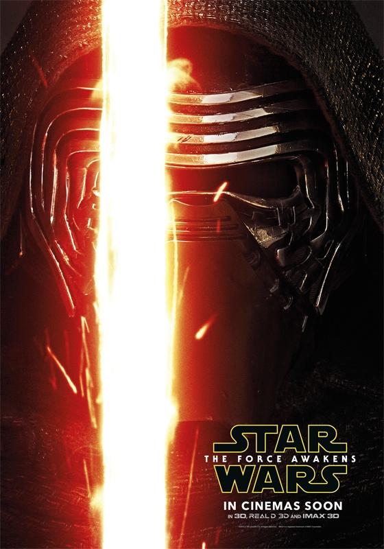 Bom tan 'Star Wars 7' tung loat poster nhan vat moi hinh anh 3