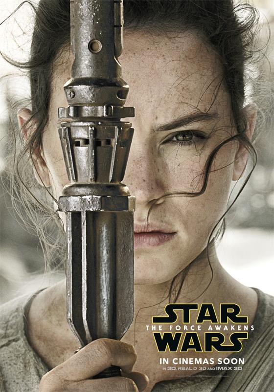 Bom tan 'Star Wars 7' tung loat poster nhan vat moi hinh anh 1
