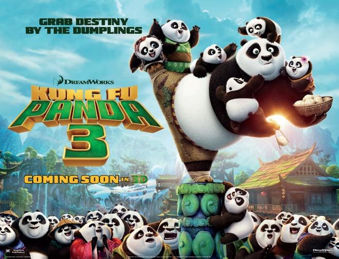 Gau Po doi dau Nguu Ma Vuong trong 'Kung Fu Panda 3' hinh anh 2 Tại Việt Nam, Kung Fu Panda 3 dự kiến khởi chiếu từ 18/3/2016.