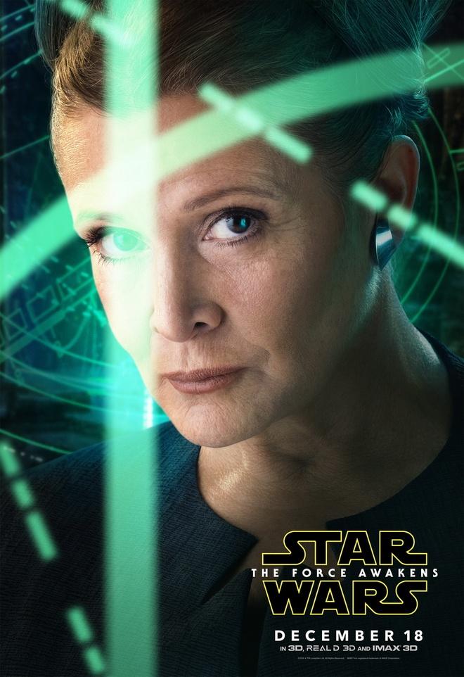 Bom tan 'Star Wars 7' tung loat poster nhan vat moi hinh anh 5