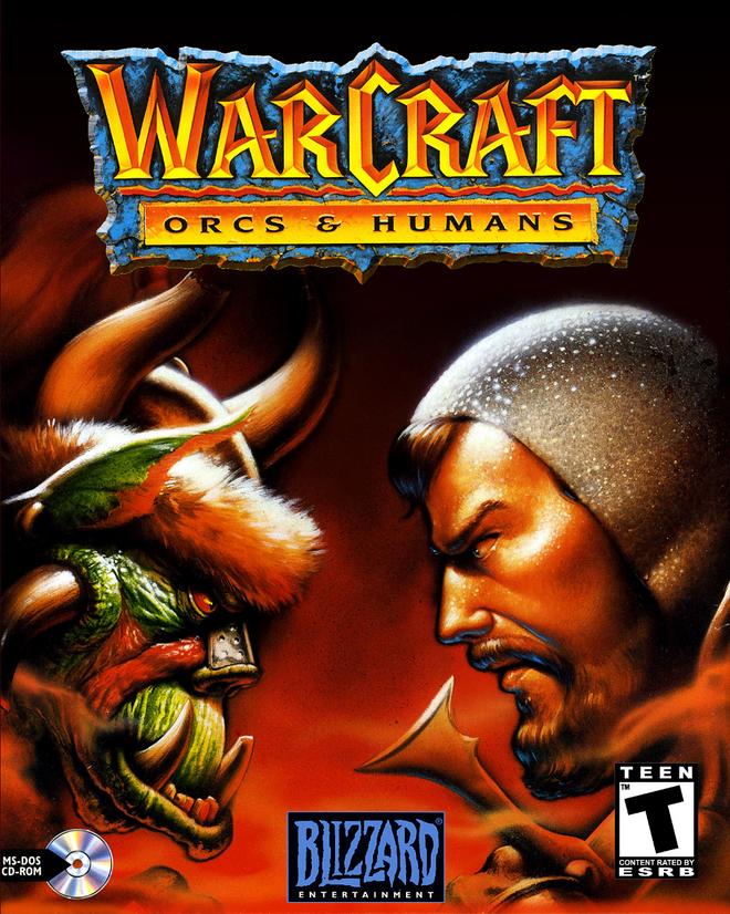 'Warcraft' va su menh giai cuu dong phim chuyen the tu game hinh anh 1 Bìa đĩa của Warcraft: Orcs & Humans.