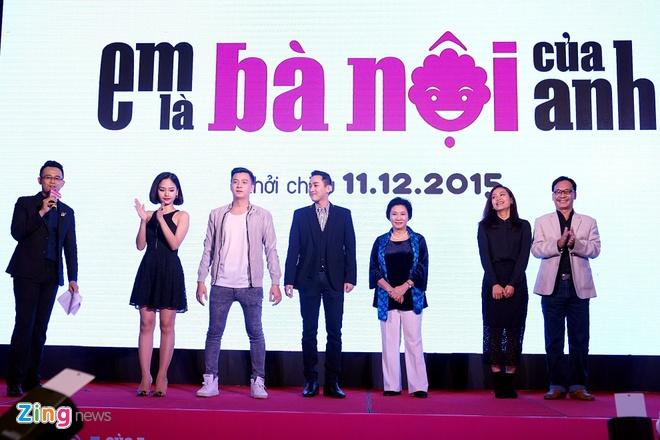 Khi Miu Le la... ba noi cua Ngo Kien Huy trong phim hinh anh 1