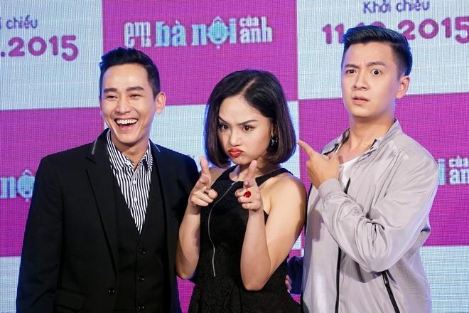 Khi Miu Le la... ba noi cua Ngo Kien Huy trong phim hinh anh