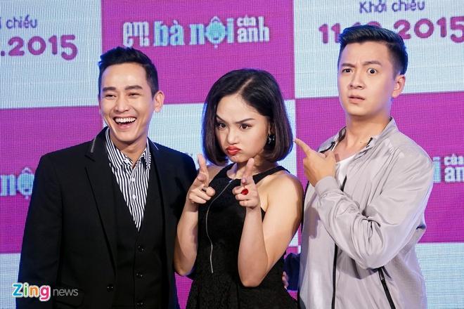Khi Miu Le la... ba noi cua Ngo Kien Huy trong phim hinh anh 4