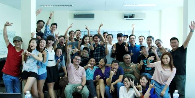 Bo doi Thai Hoa - Johnny Tri Nguyen khoi quay 'Fan cuong' hinh anh 1